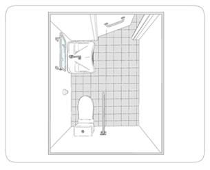 Presto italia s r l produzione di rubinetterie - Bagni disabili esempi ...